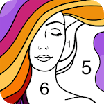 Fun Coloring - Color By Number Paint Happy & Relax APK icon