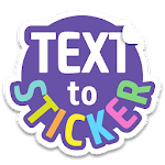 Texticker, Create Text Stickers - WAStickerApps APK icon