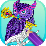 Best Coloring pages For Adults APK icon