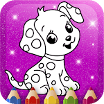 Animated Kids Coloring Book APK icon