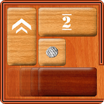 Unblock Red Wood - slide puzzle APK icon