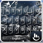 Broken Glass Keyboard Theme APK