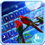 Lovely Parrots Keyboard Theme APK