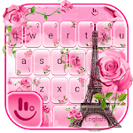Rose Paris Keyboard Theme APK