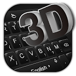 3D Simple Business Black Keyboard Theme APK icon