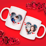 Couple Cup Photo Frame APK icon