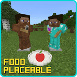 Placeable Food Addon for MCPE APK