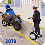 Hoverboard Gyroscooter Police Chase 2019 APK icon