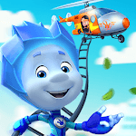 Fiksiki: Building Games Fix it Free Games for Kids APK icon
