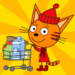 Kid-E-Cats: Grocery Store & Cash Register Games APK icon