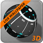 3D Ball Compass + LIVE WALLPAPER APK