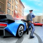 US Police Cop Pursuit Gangster Car Chase 2019 APK icon