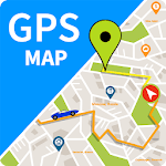 GPS Map Route Traffic Navigation APK icon