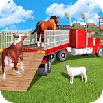 Offroad Animal Transport Truck Driver 3D APK icon