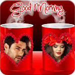 Coffee Cup Dual Photo Frames APK icon
