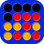 4 in a row - Board game for 2 players APK icon