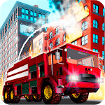 Fire Truck Emergency Rescue - Driving Simulator APK icon