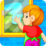 Kids Cleaning Games - My House Cleanup APK icon