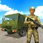 Offroad Army Truck Driving Game APK icon