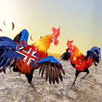 Farm Rooster Fighting Angry Chicks Ring Fighter 2 APK icon