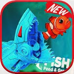 Feed Underwater Fish & Grow - Feed Hungry Fish APK icon