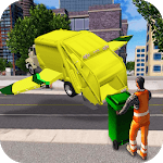 Flying Garbage Truck Simulator APK