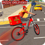 BMX Bicycle Pizza Delivery Boy 2019 APK icon