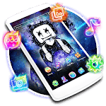 DJ Neon Galaxy Launcher Theme Live HD Wallpapers APK