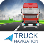 Free Truck Gps Navigation: Gps For Truckers APK icon