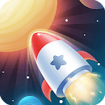 Idle Rocket - Aircraft Evolution & Space Battle APK icon