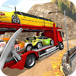 Vehicle Transporter Trailer Truck Game APK icon