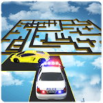 99% Impossible Tracks Police Car Chase: Maze Derby APK