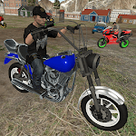 Driving Simulator 2019: Motorcycle Police Chase APK icon