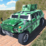 Offroad Jeep Army SUV Mountain Driving Adventure APK icon