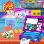 Subway Cashier Cash Register Game for kids free APK