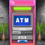 ATM Simulator Virtual Bank Cashier Free Kids Game APK icon