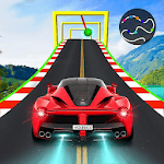 Crazy Car & Impossible Track Racing Ramp Car Stunt APK icon
