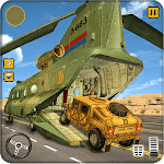 US Army Cargo Transport : Military Plane Games APK icon