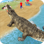 Crocodile Simulator : Animal attack Crocodile Game APK icon