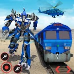 Real Train Robot Transformation 2019 APK icon
