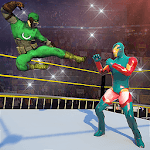 Ultimate Superhero Fighting Club : Wrestling Games APK icon