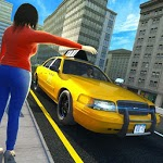 City Taxi Cab Driver - Car Driving Game APK