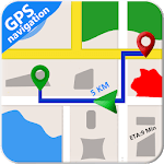 GPS Maps Free Navigation & Route Planner APK icon