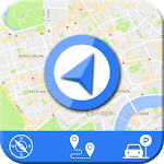 Live GPS Maps & Navigation 2019: GPS Driving Guide APK icon