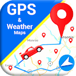 Maps & Navigation - GPS Route Finder; Weather Info APK icon