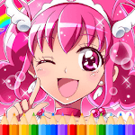 How To Color Pretty Cure APK icon