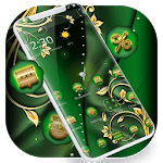 Green Gold Luxury Business Theme APK
