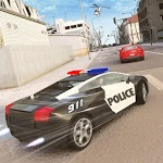 Crime Cop Car Chase Mission APK icon