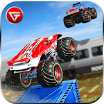 US Monster Truck Driving: Impossible Truck Stunts APK