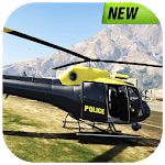 Real Police Helicopter Simulator : Cop City Flying APK icon